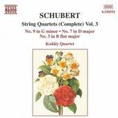 SCHUBERT: String Quartets Nos. 3, 7 and 9