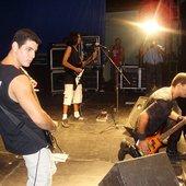 Marcelo, Wagner e Júnior - Tabira Rock 2006