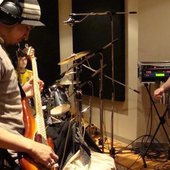 Recording the upcoming EP - 2008