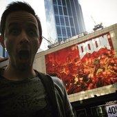 Doom mural