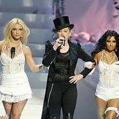 Madonna/Britney Spears/Christina Aguilera/Missy Elliott