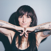 Lights when she stopped by the iHeartRadio Office, 2015.