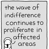 The Wave of Indifference Continues to Proliferate in Affected Areas