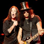 Slash & Ozzy Osbourne