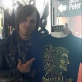 Justin Cordle_ Double life t-shirt