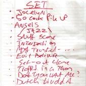 Guildford boileroom set list May 31st 2k10