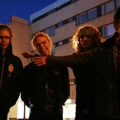 From left Marko, Jussa, hyrski & Tuomo(Foto by Luiro)