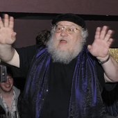 GRRM (Game of Thrones afterparty)