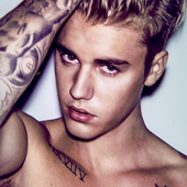 Justin's photoshoot for Interview Magazine