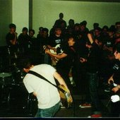 08/17/00 with Converge at Botanical 2