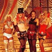 Christina Aguilera, Lil' Kim, Mya & Pink