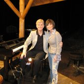 Jeffrey Jiles and Pan Tillis, He opened for her July 5th 2011 in Lake City Colorado
