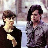 Joanne Catherall and Phil Oakey, 1981