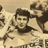 """from Dion's official Facebook page: MY SISTERS DONNA & JOANIE CONGRATULATING ME ON THE SUCCESS OF \""""RUNAROUND SUE\"""""""