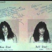 """Ron \""""Bumblefoot\"""" Thal & Jeff Thal"""