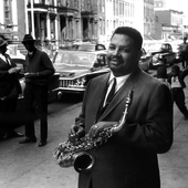Julian Cannonball Adderley / photo: William Claxton