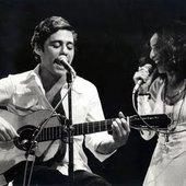 Chico Buarque e Maria Bethânia