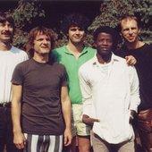 Argile line-up 1989 Hofmann/Kilian/Treiber/Sangare/Weberpals