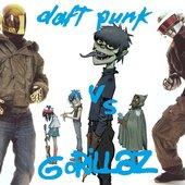 Daft Punk vs Gorillaz