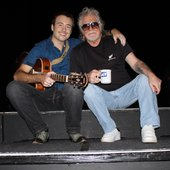 Matt Tyler with Raymond Froggatt. Southport Theatre Sept 2009
