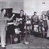 Eddy Christiani and Frans Poptie
