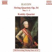 HAYDN: String Quartets Op. 54, Nos. 1- 3