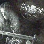 Signature Rob Darken the my poster Graveland : '' DARKEN WMU14 ''
