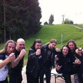 Minotaur (GER) & Die Hard (SWE) at Heavy Metal Overkill (Germany) 2012-06-08 - 666% THRASH METAL!