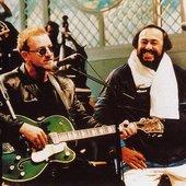 Passengers - Bono with Pavarotti, Modena, 1995
