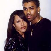 Ginuwine & his sweet friend Aaliyah