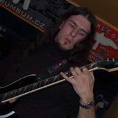 """Jan \""""Zíno\"""" Navrátil - lead and rhytm guitar"""