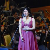 "Hiba Al Kawas in \""Abu Dhabi Festival\"" Closing Concert"