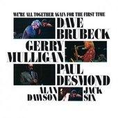 Dave Brubeck, Gerry Mulligan, Paul Desmond