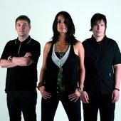 """Kosheen - Markee \""""Substance\"""" Morrson (left) + Sian Evans & Darren Beale"""