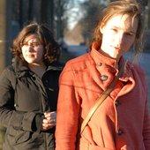 Esther Venrooy and Heleen Van Haegenborgh