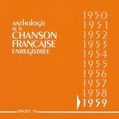 Anthologie de la chanson française : 1959