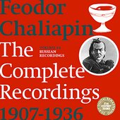 Chaliapin: the Complete Recordings 1907-1936 Volume 4. Russian Recordings