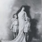 Rosa Ponselle in the title role of Bellini's Norma