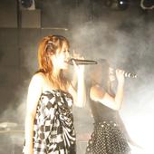 Aira Mitsuki and Saori@Destiny performing @ GLAD