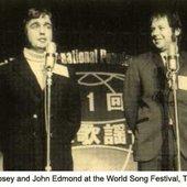 John Edmond at World Song Festival,1970