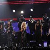 Christina Aguilera, Jennifer Hudson, Yolanda Adams,  Martina McBride, Florence Welch