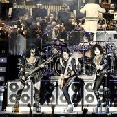 KISS performing live