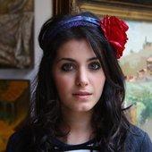 Katie Melua Attends Georgian Art Exhibition