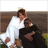 Faith Evans and Puff Daddy
