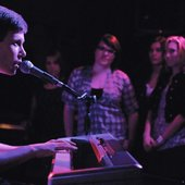Nate playing Piano