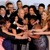 Glee 68th Golden Globe Awards Glee