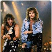 Richie Sambora & Jon Bon Jovi