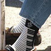Willie's socks, way cool