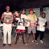 Amidio Junior, Cardoso, Argeu California e Edilson Cruz