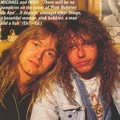 Michael Kiske & Ingo (RIP)